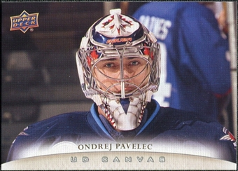 2011/12 Upper Deck Canvas #C209 Ondrej Pavelec
