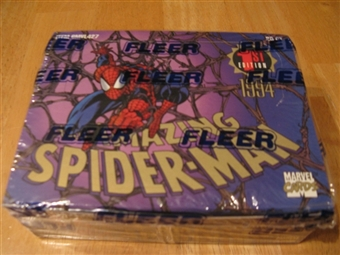 The Amazing Spiderman 1st Edition Retail Box (1994 Fleer)