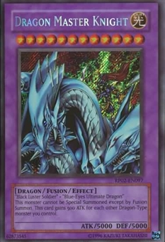 Yu-Gi-Oh Retro Pack 2 Single Dragon Master Knight Secret Rare