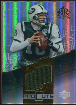 2004 Upper Deck Reflections Pro Cuts Jerseys Gold #PCCH Chad Pennington