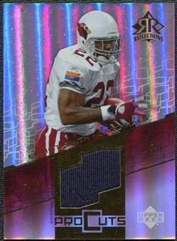 2004 Upper Deck Reflections Pro Cuts Jerseys Gold #PCES Emmitt Smith