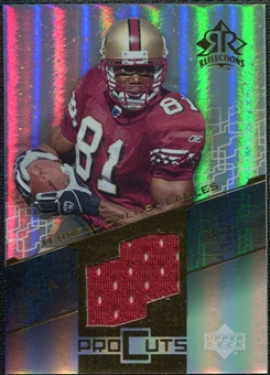 2004 Upper Deck Reflections Pro Cuts Jerseys Gold #PCTO Terrell Owens