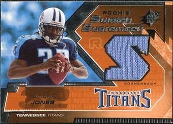 2005 Upper Deck SPx Rookie Swatch Supremacy #RSAJ Adam Jones