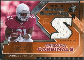 2005 Upper Deck SPx Rookie Swatch Supremacy #RSAN Antrel Rolle
