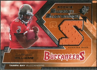 2005 Upper Deck SPx Rookie Swatch Supremacy #RSCW Cadillac Williams