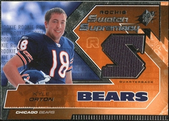 2005 Upper Deck SPx Rookie Swatch Supremacy #RSKO Kyle Orton