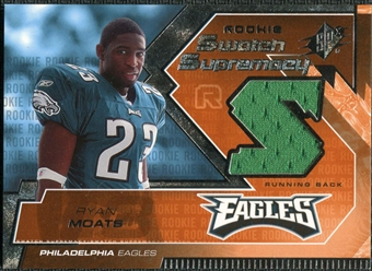 2005 Upper Deck SPx Rookie Swatch Supremacy #RSRM Ryan Moats