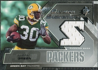 2005 Upper Deck SPx Swatch Supremacy #SWAH Ahman Green