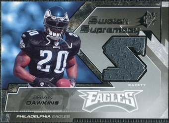 2005 Upper Deck SPx Swatch Supremacy #SWBD Brian Dawkins