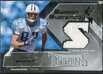 2005 Upper Deck SPx Swatch Supremacy #SWDW Drew Bennett