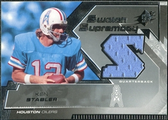 2005 Upper Deck SPx Swatch Supremacy #SWKS Ken Stabler