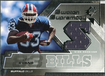 2005 Upper Deck SPx Swatch Supremacy #SWLE Lee Evans