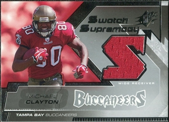 2005 Upper Deck SPx Swatch Supremacy #SWMC Michael Clayton