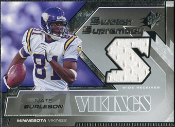 2005 Upper Deck SPx Swatch Supremacy #SWNB Nate Burleson