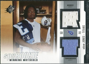 2005 Upper Deck SPx Rookie Winning Materials #RWMAJ Adam Jones