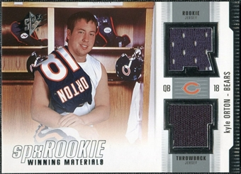 2005 Upper Deck SPx Rookie Winning Materials #RWMKO Kyle Orton