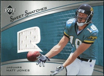 2005 Upper Deck Sweet Spot Rookie Sweet Swatches #SRMJ Matt Jones