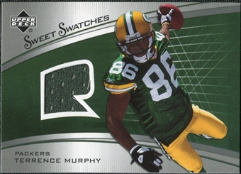 2005 Upper Deck Sweet Spot Rookie Sweet Swatches #SRTM Terrence Murphy