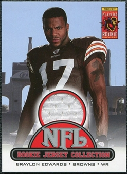 2005 Upper Deck Rookie Materials Rookie Jerseys #R10 Braylon Edwards