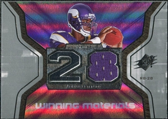 2007 Upper Deck SPx Winning Materials Jersey Number #WMAP Adrian Peterson