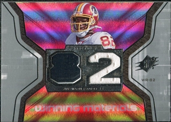 2007 Upper Deck SPx Winning Materials Jersey Number #WMRE Antwaan Randle El