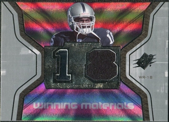 2007 Upper Deck SPx Winning Materials Jersey Number #WMRM Randy Moss