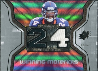 2007 Upper Deck SPx Winning Materials Jersey Number #WMCB2 Champ Bailey