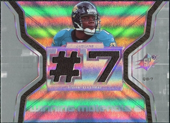 2007 Upper Deck SPx Winning Materials Jersey Number Dual #WMBL2 Byron Leftwich