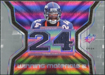 2007 Upper Deck SPx Winning Materials Jersey Number Dual #WMCB2 Champ Bailey