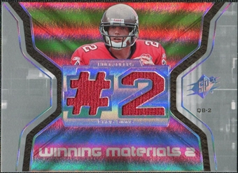 2007 Upper Deck SPx Winning Materials Jersey Number Dual #WMCS1 Chris Simms