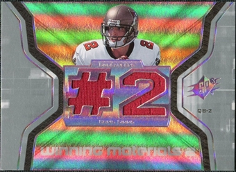 2007 Upper Deck SPx Winning Materials Jersey Number Dual #WMCS2 Chris Simms