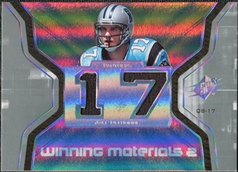 2007 Upper Deck SPx Winning Materials Jersey Number Dual #WMJD2 Jake Delhomme