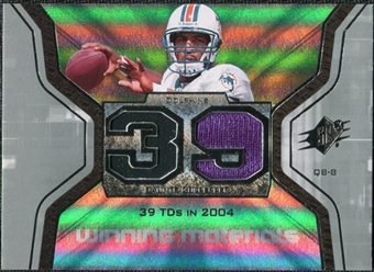 2007 Upper Deck SPx Winning Materials Stat #WMSCU Daunte Culpepper