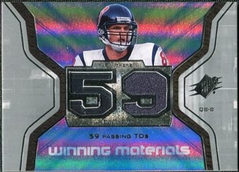 2007 Upper Deck SPx Winning Materials Stat #WMSDC David Carr