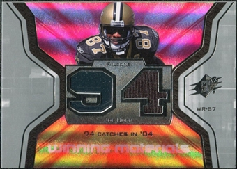 2007 Upper Deck SPx Winning Materials Stat #WMSJH Joe Horn