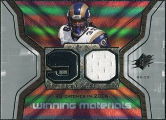 2007 Upper Deck SPx Winning Materials Stat #WMSSJ Steven Jackson