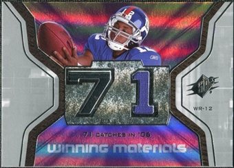 2007 Upper Deck SPx Winning Materials Stat #WMSSS Steve Smith USC