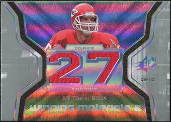 2007 Upper Deck SPx Winning Materials Stat Dual #WMSGR Trent Green