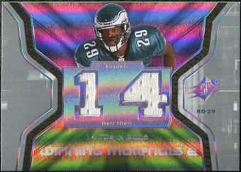 2007 Upper Deck SPx Winning Materials Stat Dual #WMSHU Tony Hunt