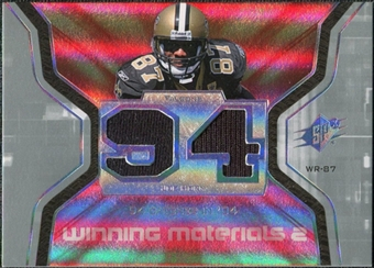 2007 Upper Deck SPx Winning Materials Stat Dual #WMSJH Joe Horn