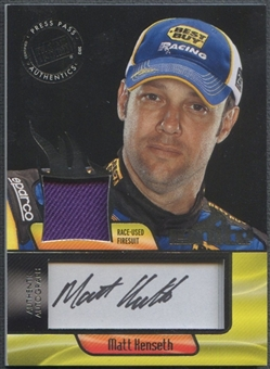 2012 Press Pass Ignite #IMMK Matt Kenseth Firesuit Auto