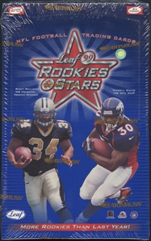 1999 Leaf Rookies & Stars Football 24-Pack Retail Box