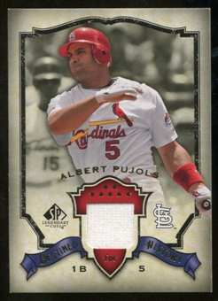 2008 Upper Deck SP Legendary Cuts Destined for History Memorabilia #AP Albert Pujols