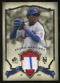 2008 Upper Deck SP Legendary Cuts Destined for History Memorabilia #PM Pedro Martinez