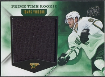 2011/12 Panini Prime #22 Tomas Vincour Prime Time Rookie Jersey #98/99