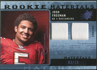 2009 Upper Deck SPx Rookie Materials Dual Swatch Patch #RMJF Josh Freeman /99