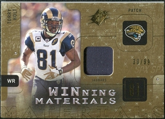2009 Upper Deck SPx Winning Materials Patch #WHO Torry Holt /99