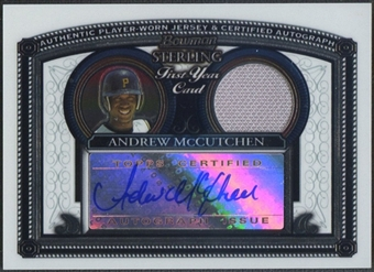 2005 Bowman Sterling #AM Andrew McCutchen Rookie Jersey Auto