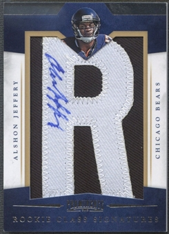 "2012 Panini Prominence #240 Alshon Jeffery Rookie Letter ""R"" Patch Auto #127/175"
