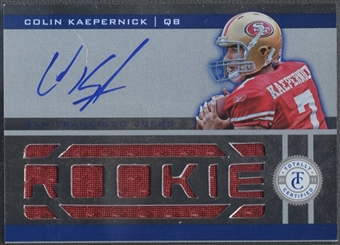 2011 Totally Certified #210 Colin Kaepernick Rookie Jersey Auto #108/399